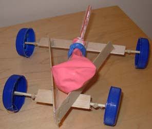 Make a balloon powered car - Homes built from recycled materials nasas outer space challenge ...